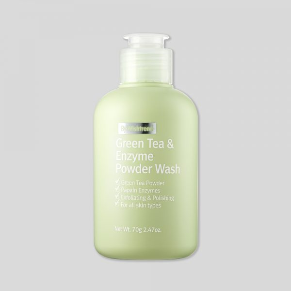 Green Tea & Enzyme Powder Wash_Bottle