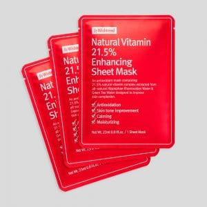 Natural Vitamin 21.5 Enhancing Sheet Mask (3)