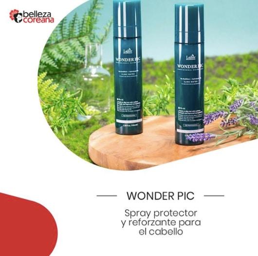 Wonder Pic Spray protector y reforzante para el cabello
